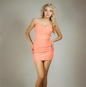 Fabulous Orange Dress